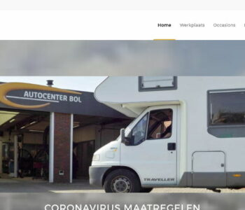 Autocenter Bol website